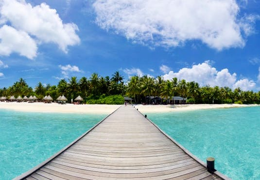 All-inclusive Maldives holiday with an over-water bungalow ...