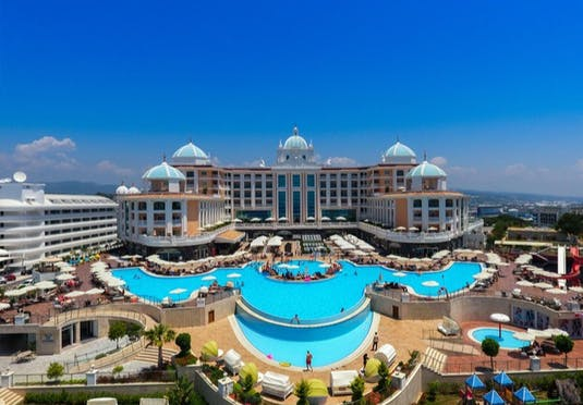 5* ultra all-inclusive Turkey hoilday with sea views