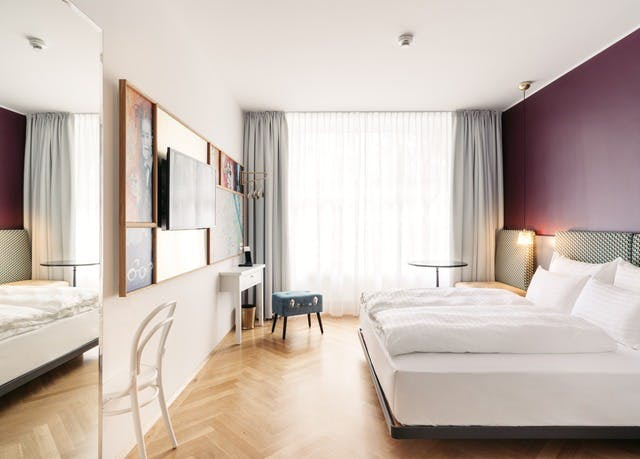 Boutique-Hotel direkt an Wiens Shoppingmeile