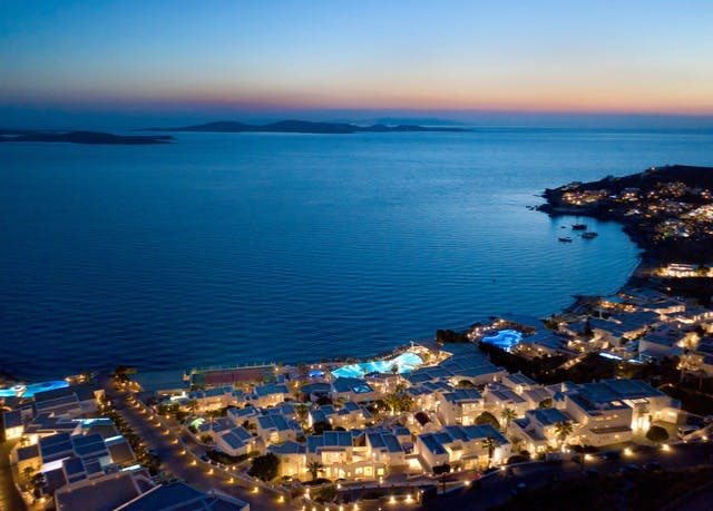 Best Island Beaches For Partying Mykonos St Barts: 5* Luxury Mykonos Resort With A Private Beach